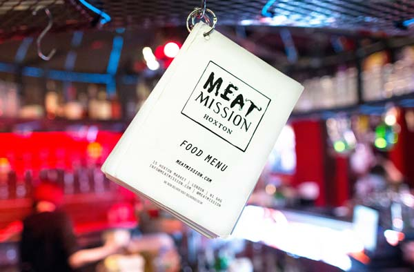 Meat liquor menu reading meat mission